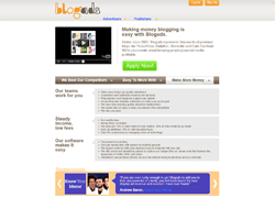 Blogads | making money blogging | register | apply